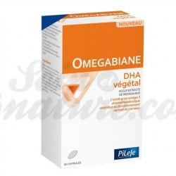 Omégabiane DHA oméga 3 végétal Vegan 60 capsules