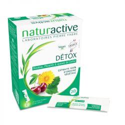NATURACTIVE Détox 20 sticks de 10 ml