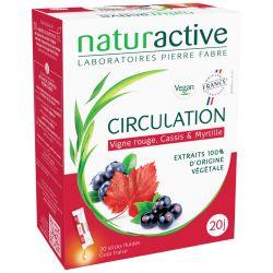 NATURACTIVE Circulation 20 sticks de 10 ml