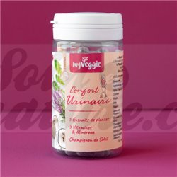 MyVeggie Confort urinaire 60 gélules