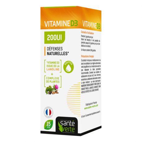 Green Health Vitamine D3 15ml