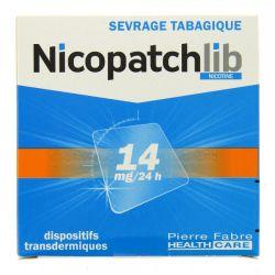 NICOPATCH 14 mg patchs NICOTINE 14MG/24H