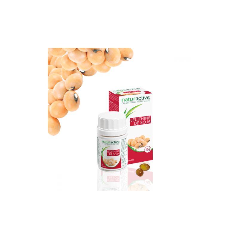 NATURACTIVE Lécithine de soja 60 gélules en vente en