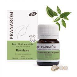PRANAROM BIO Perle huile essentielle de Ravintsara B/60