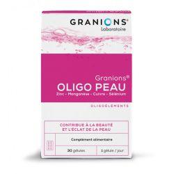 Granions Oligo peau 30 gélules Oligothérapie