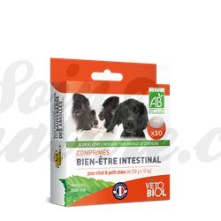 Vetobiol Tablets Hygiene Intestinal Puppy Dog Box 3