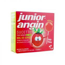 Melisana Junior Angin sucette fraise x8