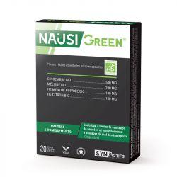 SYNACTIFS Nausigreen Bio 20 gélules