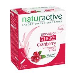 Urisanol Sticks Cranberry Stévia 28 sticks