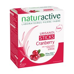 Urisanol Sticks Cranberry Stévia 28 sticks