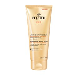 Nuxe Sun Face and Body Latte doposole fresco