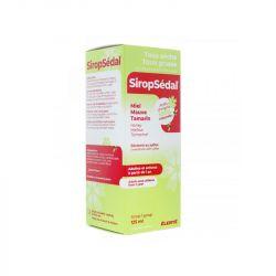 SIROPSEDAL Sirop Toux sans sucre 125ml Elerté