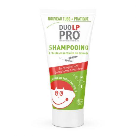 Shampoo Duo LP-PRO Preventieve Lice Nits en essentiële oliën van lavendel