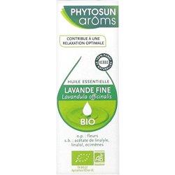 PHYTOSUN AROMS huile essentielle lavande fine BIO 10ML Lavandula officinalis