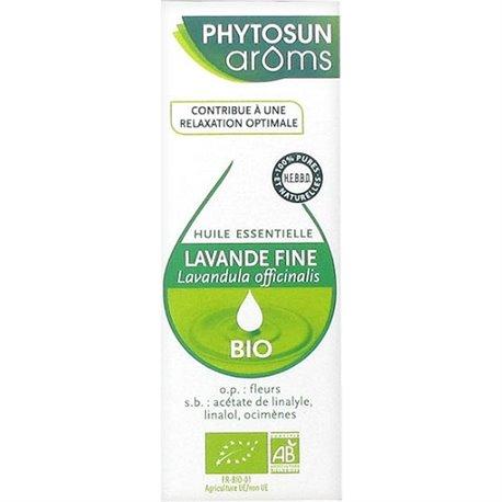 LAVENDER ESSENTIAL OIL PHYTOSUN AROMS Lavandula officinalis FINE 10ML