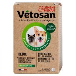 Vetosan detox 45 comprimés