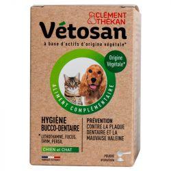 Vetosan poudre hygiene bucco-dentaire chien et chat 60g