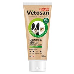 Vetosan shampooing repulsif pour chien et chat 200 ml