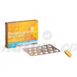 Pantoprazol Mylan úlcera de estômago 20mg 14 comprimidos