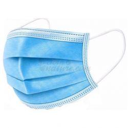 Masque respiratoire type chirurgicaux 3 plis Usage unique