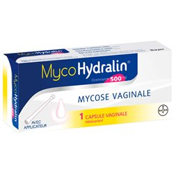 MycoHydralin Clotrimazole 500MG 1 Capsule vaginale