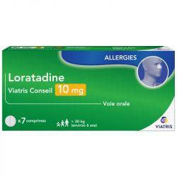 Loratadine Mylan Conseil Allergie 10mg 7 comprimés