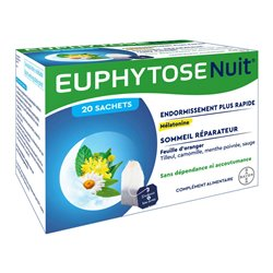Euphytose Nuit Tisane 20 Infusions Sommeil