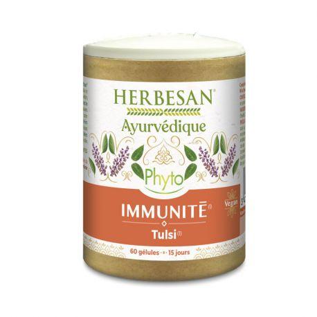 Herbesan Ayurveda Immunité 60 Gélules Bio