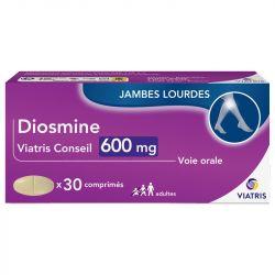 DIOSMINE Mylan Conseil 600mg Hémorroïde 30 comprimés
