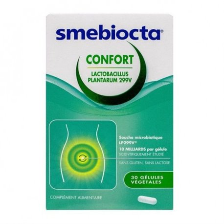 SMEBIOCTA Confort LP Probiotique 30 Gélules en vente en ...