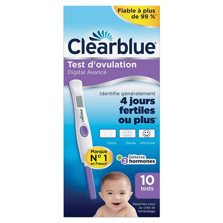 CLEARBLUE CONTRACEPTION MONITOR 16 Reactive tests