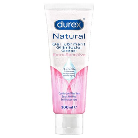 Durex Gel naturel extra sensitive à l'aloe vera 100ml