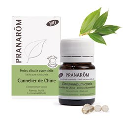 PRANAROM Bio Perles d'huile essentielle Cannelier de Chine