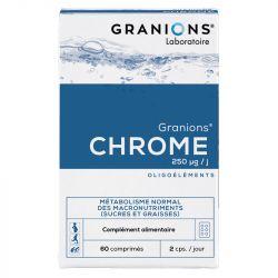 Granions de Chrome 250µg 60 Comprimés