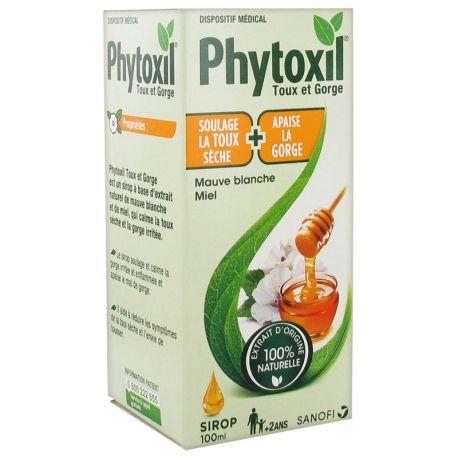 Achetez PHYTOXIL Toux sèche adulte sirop 100ml en ...