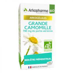 Arkogélules Grande Camomille Bio Partenelle 45 Gélules Arkopharma