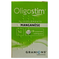 OLIGOSTIM Manganèse 40 comprimés Granions