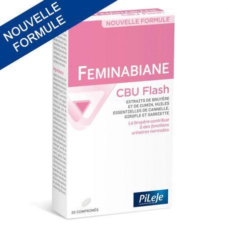 PILEJE Feminabiane ЦБУ FLASH Цистит 6 таблеток