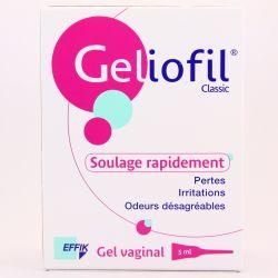 GELIOFIL CLASSIC GEL VAGINAL 7 DOSES 5 ML