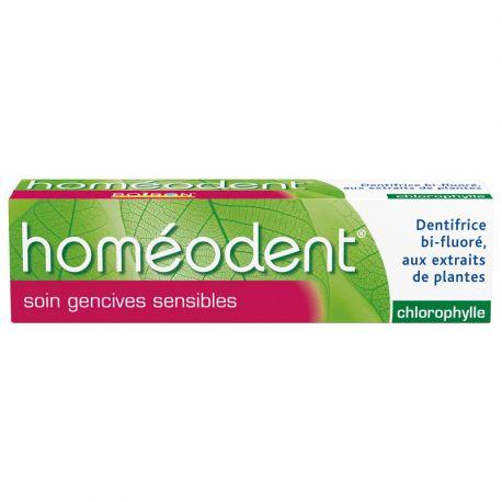 HOMEODENT CARE الصمغية الحساسة معجون الأسنان المعالجة المثلية BOIRON