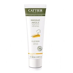 Cattier Masque Argile Jaune