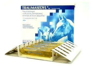 TRAUMASEDYL VETERINAIRE HOMEOPATHIE BOIRON 12 AMP 5ML