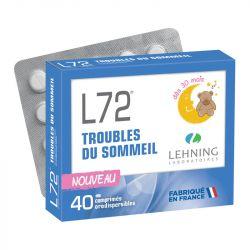 L72 Troubles du Sommeil Enfant 40 comprimés