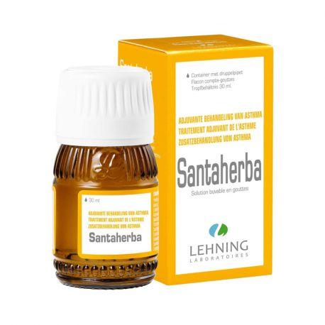 SANTAHERBA ASTHME HOMEOPATHIE LEHNING 30ML