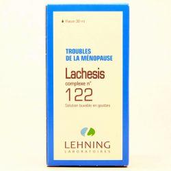 LACHESIS COMPLEXE N° 122 MENOPAUSE HOMEOPATHIE LEHNING 30ML