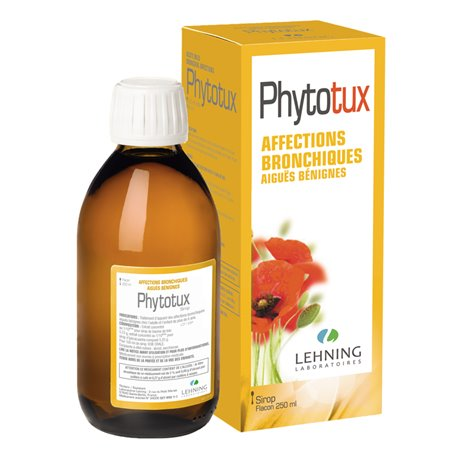 PHYTOTUX AFFECTIONS BRONCHIQUES LEHNING 250ML