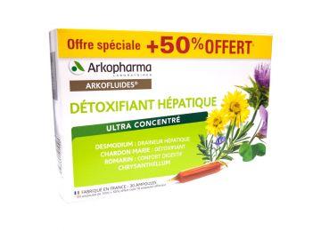 arkopharma detoxifiant hepatique