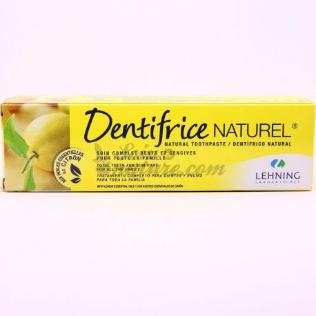 DENTIFRICE NATUREL HOMEOPATHIE LEHNING 80G