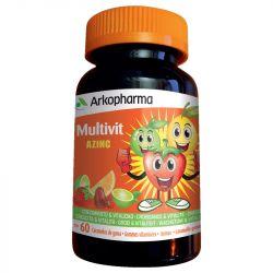 Azinc 60 gommes 9 vitamines à mâcher dès 3 ans
