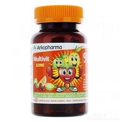 Arkovital Azinc 60 vitaminen kauwgom 9 vanaf 3 jaar